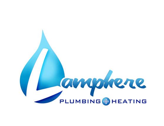 LS_Lion Star Lamphere Plumbing Logo design